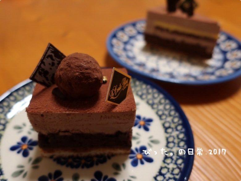 ポーリッシュポタリーとケーキ