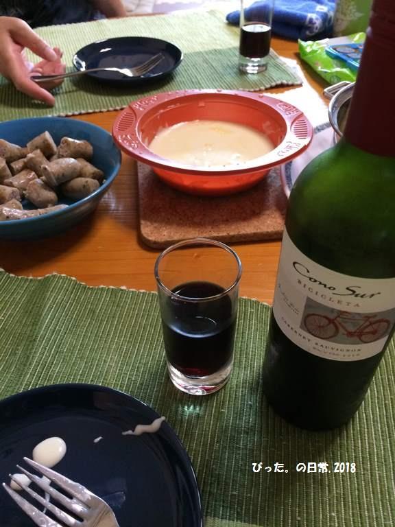 cheese fondue,自宅