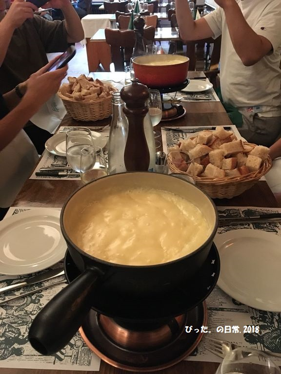 cheese fondue,スイス