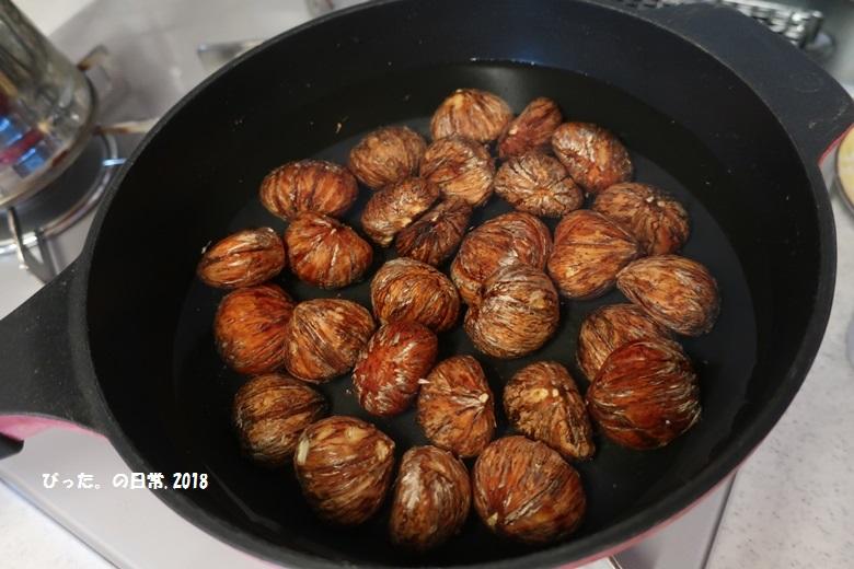 Chestnuts,栗,渋皮煮