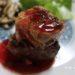 Foie gras,フォアグラ,ヒレステーキ,フランス土産,クランベリーソース